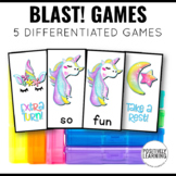 Unicorn Games for Literacy