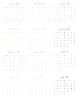 Unicorn Planner 2018-2019