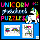 Unicorn Puzzles Printable Preschool Activity Spatial Awareness