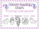 Unicorn Reading Chart