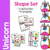 Unicorn Shape Activity Set
