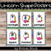Unicorn Shape Posters