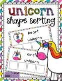 Unicorn Shape Sorting