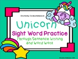 Unicorn Sight Word Practice (No Prep!)