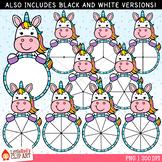 Unicorn Spinners Clip Art