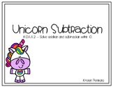 Unicorn Subtraction Scoot