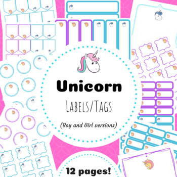 Unicorn Tags and Labels