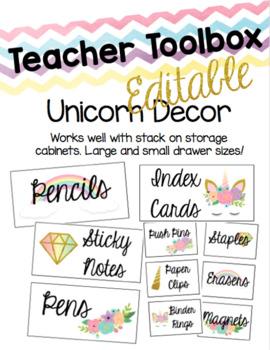 Unicorn Teacher Toolbox