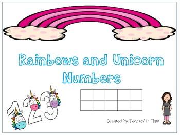 Unicorn Ten Frames