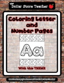 Unicorn - Theme Coloring Letter and Number 0 - 10 (37 Pages) *s