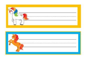 Unicorn Themed Classroom | Unicorn Classroom Decor | Desk Name Plates