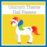 Unicorn Classroom Theme | Hall Passes
