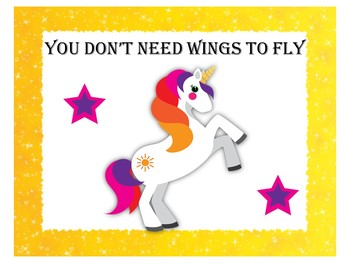 Unicorn Themed Classroom | Unicorn Classroom Decor | Quote Posters