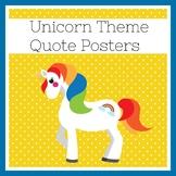 Unicorn Classroom Theme | Posters