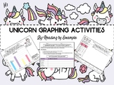 Unicorn Themed Graphing: Line Plots, Bar Graphs, Surveys & More!