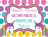 Unicorn Themed Growth Mindset and Inspirational Quote Posters