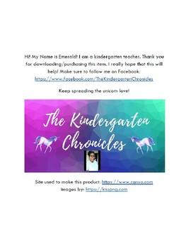 Unicorn Themed Newsletter Template FREEBIE 2
