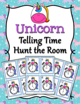 Unicorn Time to the Hour Hunt the Room