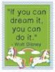 "Unicorn Unicorns Growth Mindset Posters - 8.5""x11"", 18""x24"" - Ready for Printing"