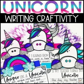 Unicorn Writing Craftivity