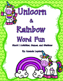 Unicorn and Rainbows Short I Fun