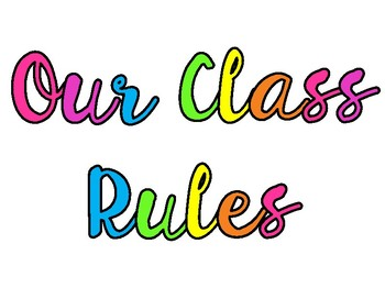 Unicorn class rule posters