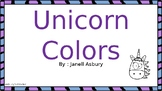 Unicorn color charts
