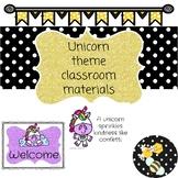 Unicorn theme classroom
