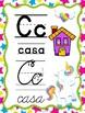 Unicornios - Abecedario Manuscrito y Cursivo (Spanish ABC)