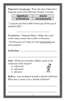 Unicorns Don't Give Sleigh Rides (Bailey School Kids) Novel Study  (25 pages)