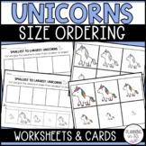 Unicorns - From Smallest to Largest (Size Ordering)