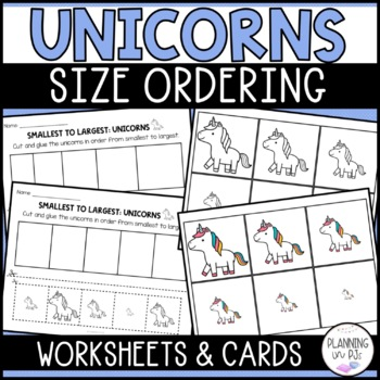 Unicorns Size Ordering (From Smallest to Largest)
