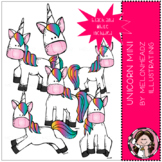 Unicorns Mini clip art - by Melonheadz