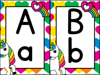 Unicorns & Rainbows Classroom Theme Decor Pack