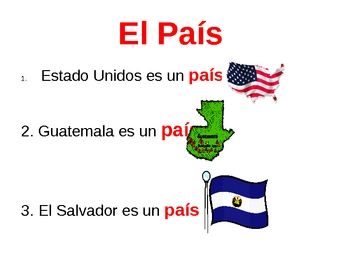 Unidad 1 Etapa1: People and Places