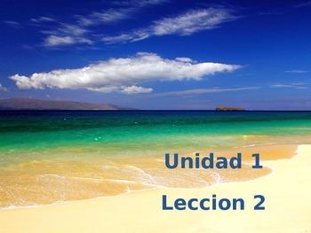 Unidad 1 Leccion 2 Vocabulary - Avancemos 2