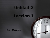 Unidad 2 Leccion 1 Vocabulary-Avancemos 1