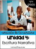 Unidad 4: Escritura narrativa (4to grado)