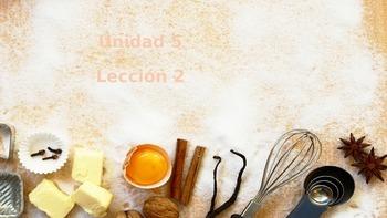 Unidad 5, Leccion 1 Vocabulary - Avancemos 2
