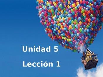 Unidad 5 Leccion 1 Vocabulary - Avancemos 1