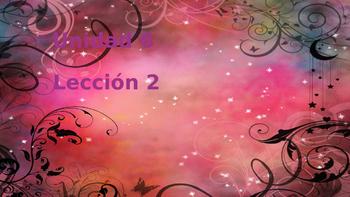 Unidad 6, Leccion 2 Vocabulary - Avancemos 2