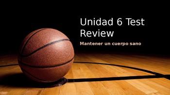 Unidad 6 Test Review