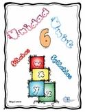 Silabas con letras w, x, y, z. Unidad 6 Unit 6