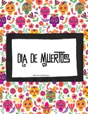 "Unidad ""Día de Muertos"" / ""Day of the Dead"" Unit (in Spanish)"