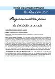Unidad Didáctica 2- Tercero primaria francés