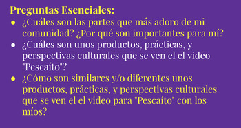 Pescaíto - A (conditional) story/song unit for late Spanish 2 (or above)
