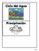 Cuaderno Interactivo del Ciclo del Agua/Spanish Water Cycle Interactive Notebook