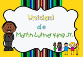 Unidad Martin Luther King / MLK day packet w/ multiple activities in Spanish