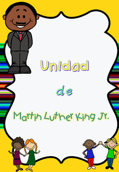 Unidad Martin Luther King reading & comprehension + poems + all about... Spanish