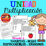 Unidad Multiplicación Grado 2 / Multiplication Unit in Spanish 2nd Grade